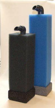 Aquariumfilter inkl. Luftheber, Bodenplatte & Filterschaum