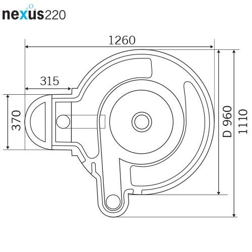 nexus220dimensions