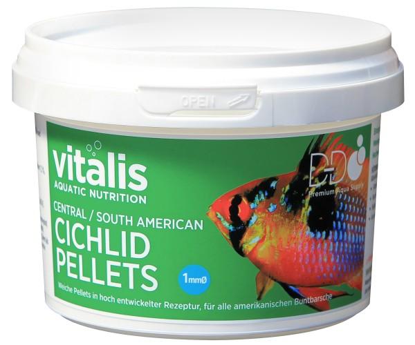 vitalis Central/Sth American Cichlid Pellets Ø 1mm